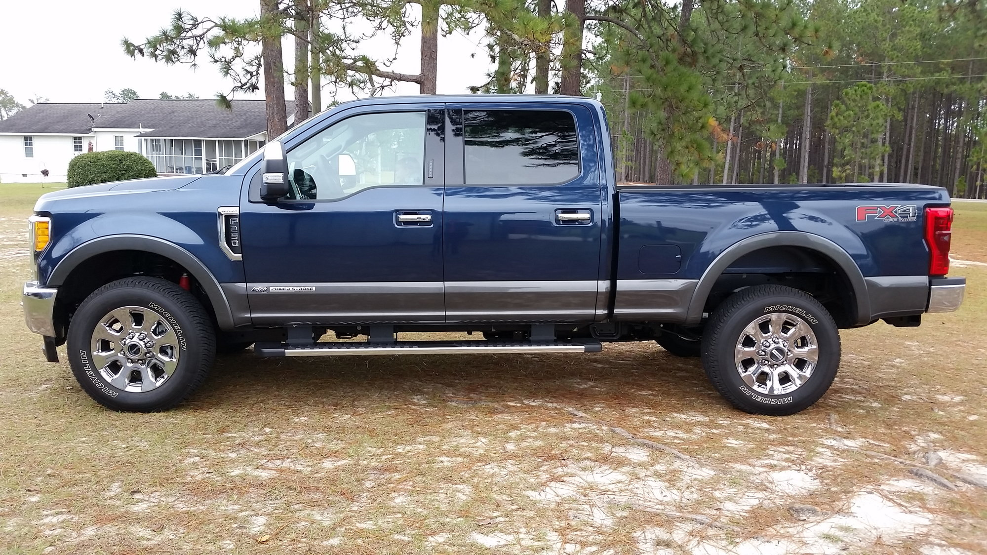 2018 F-250 King Ranch Blue Jean - Two Tone - Ford Truck Enthusiasts Forums