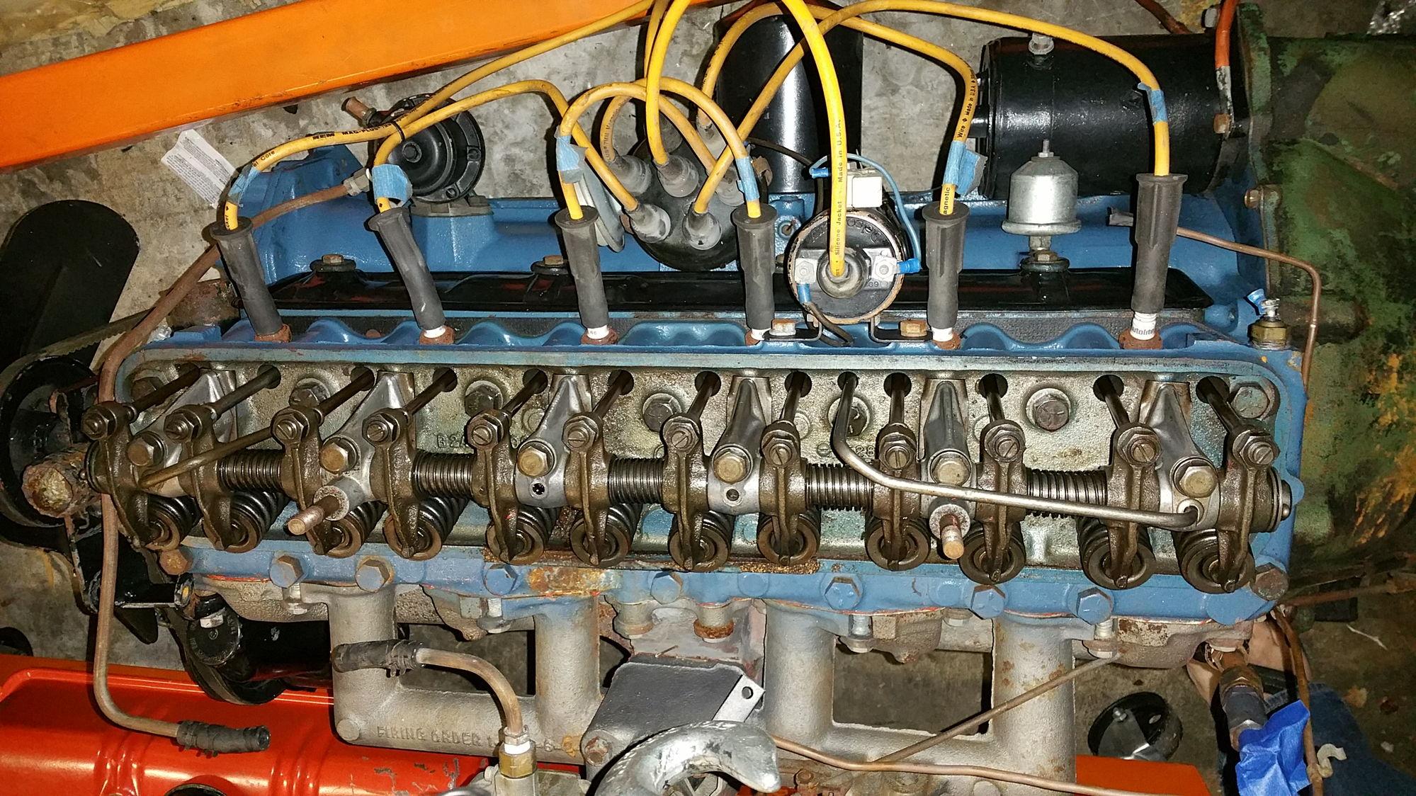 1952 Ford Six Cylinder Engine : Wanted cid ihv cylinder engine page