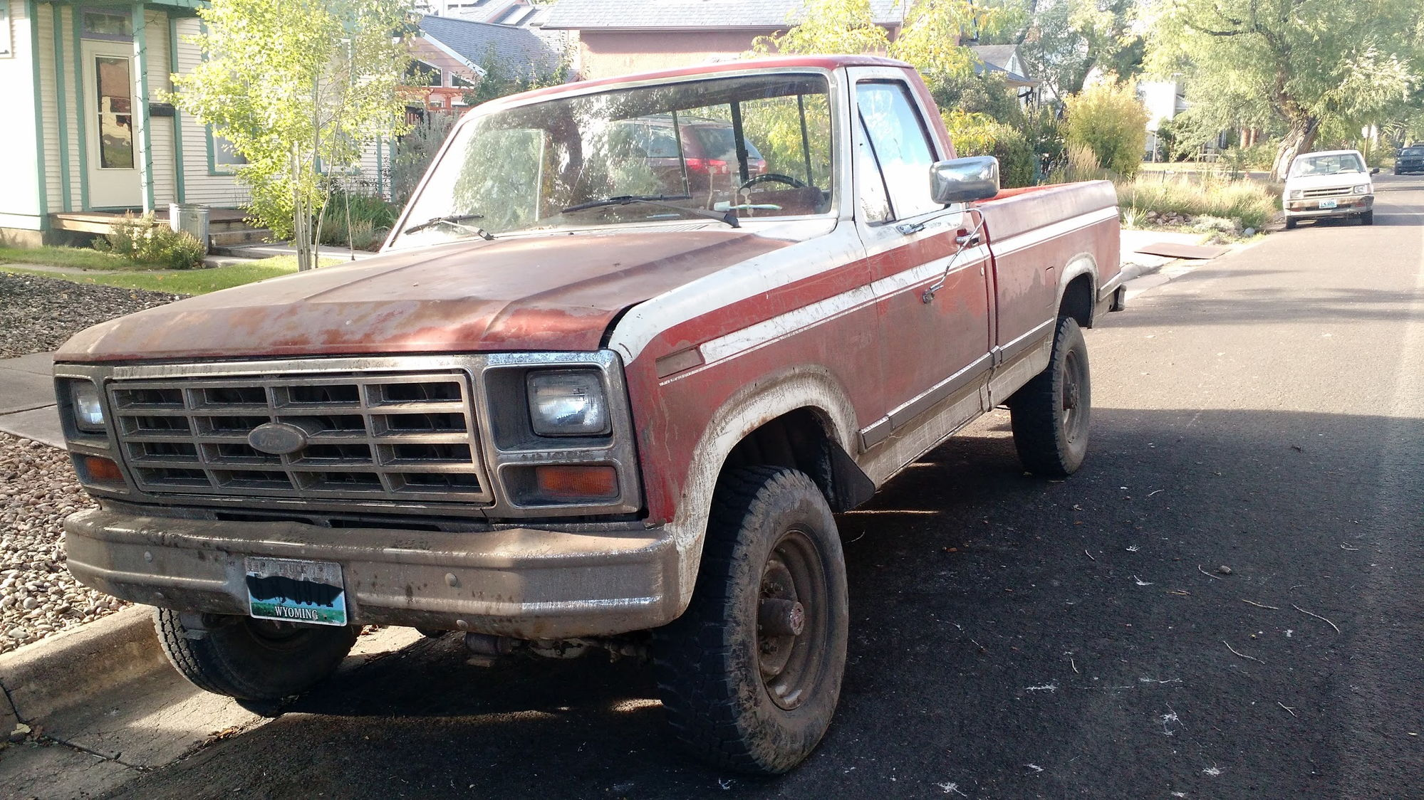 Ford Truck 1983 F250 F 250 4x4 Automatic Enthusiasts Forums