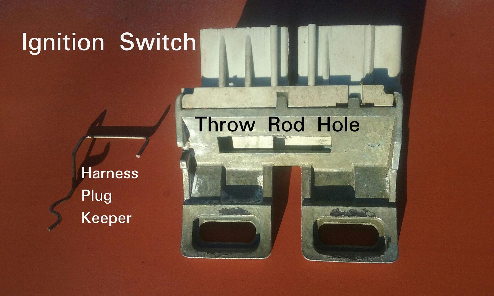 1987  Ford F150 Ignition Switch Basics