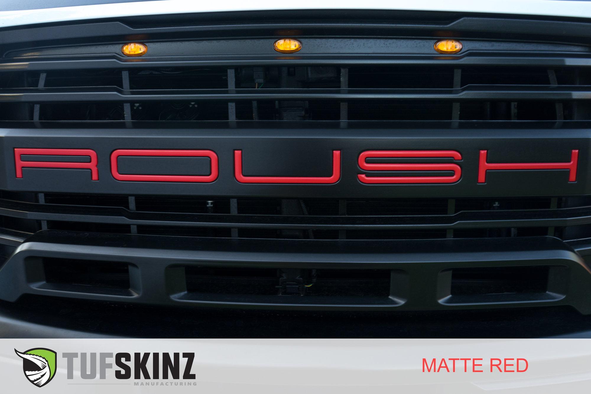 roush grill inserts ford trucks