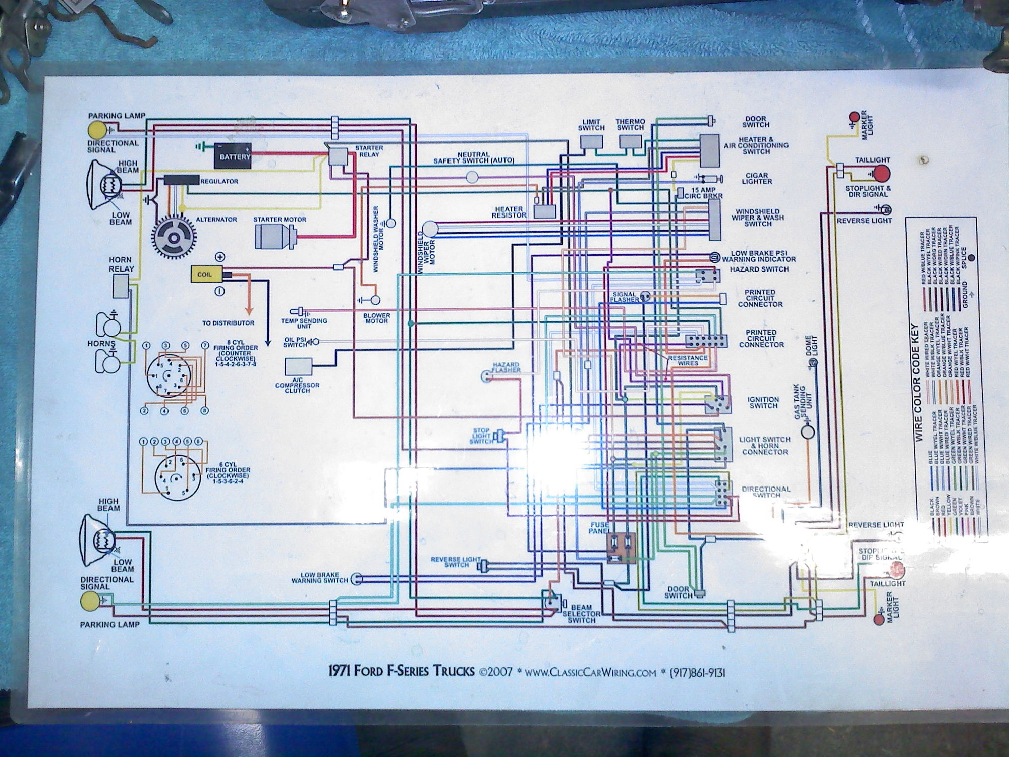 1971 Wiring Diagram - Page 2