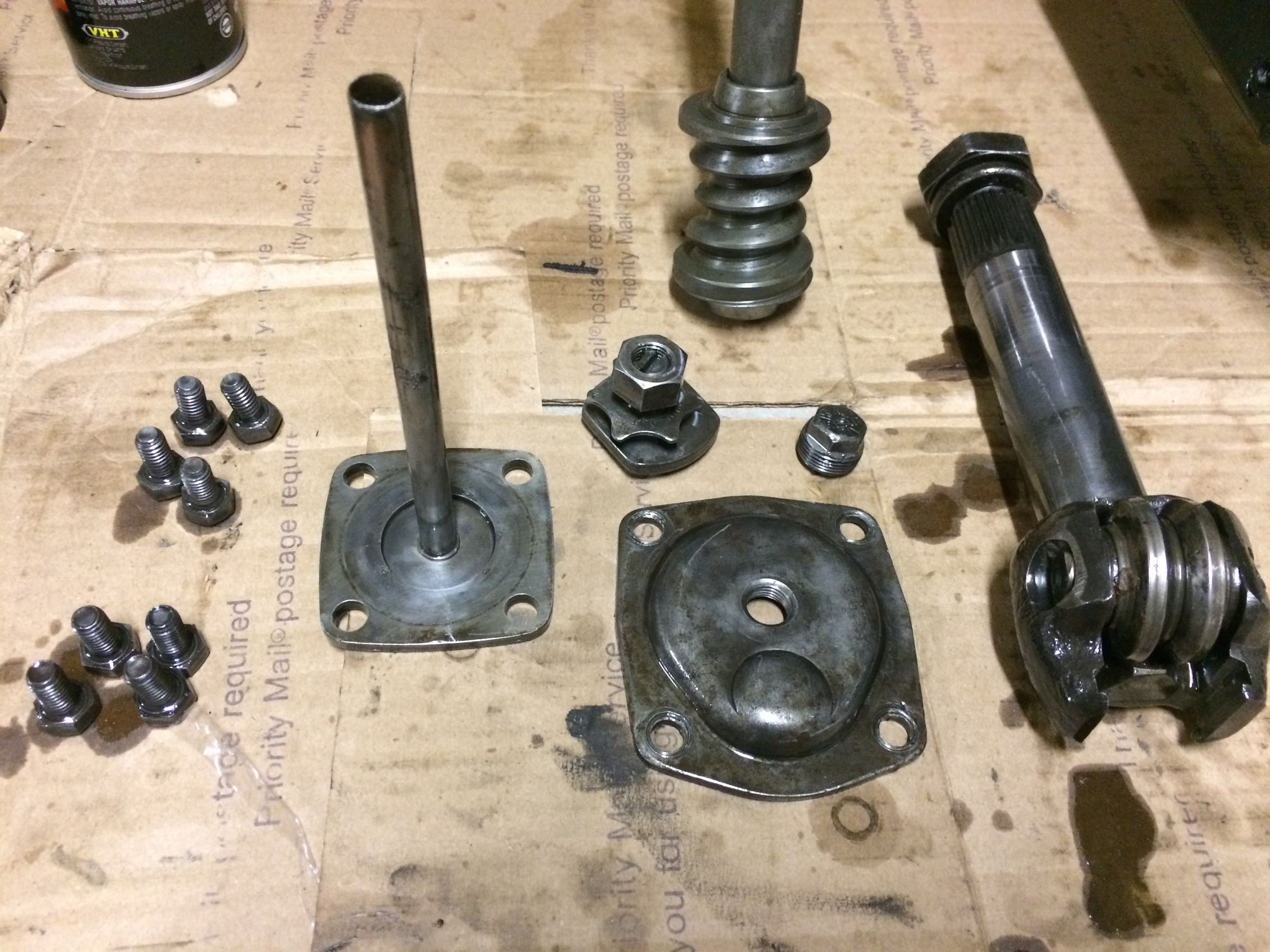 Late 50 f1 steering box and tree rebuild