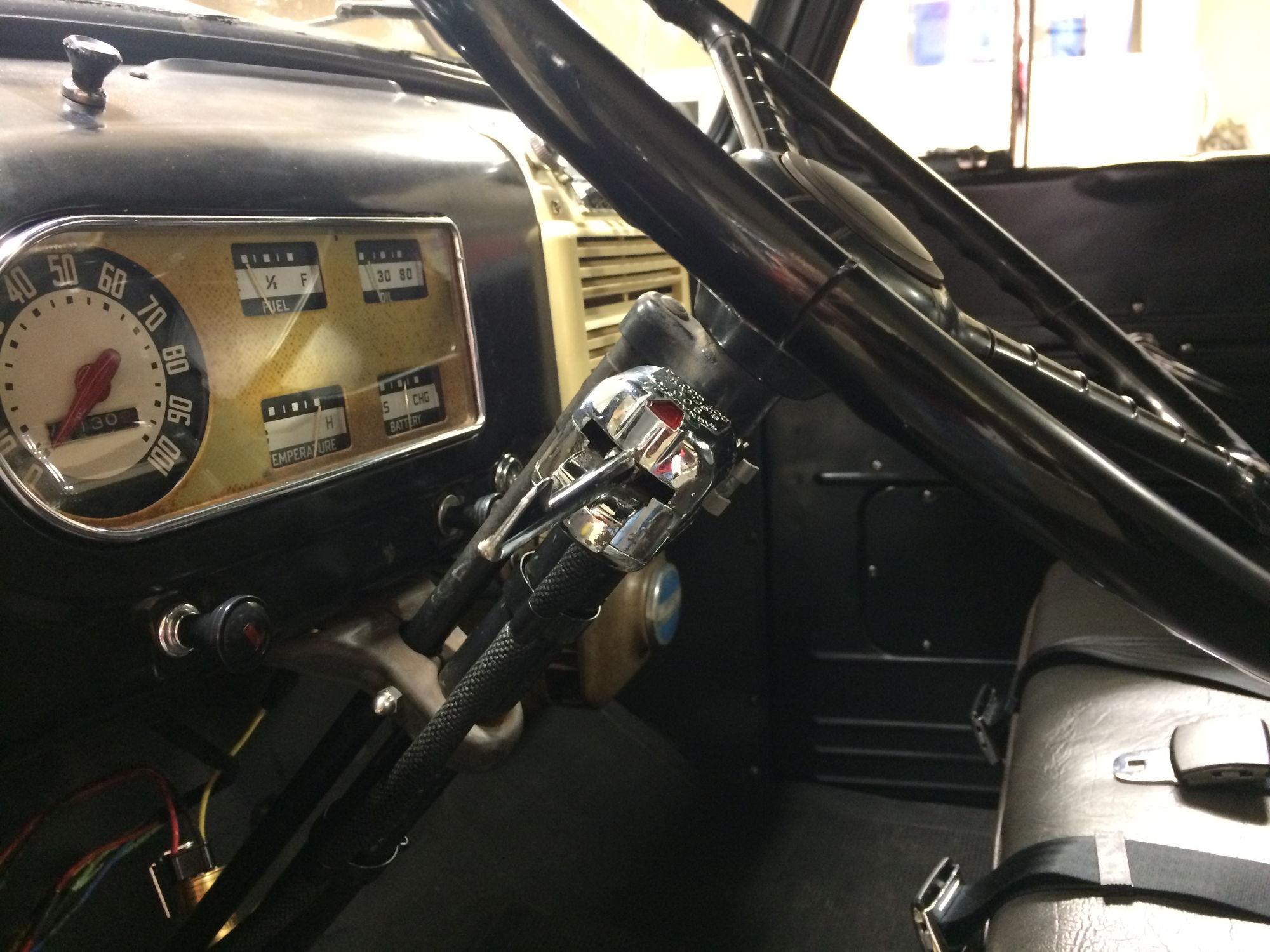 1950 Ford F1 Rewire