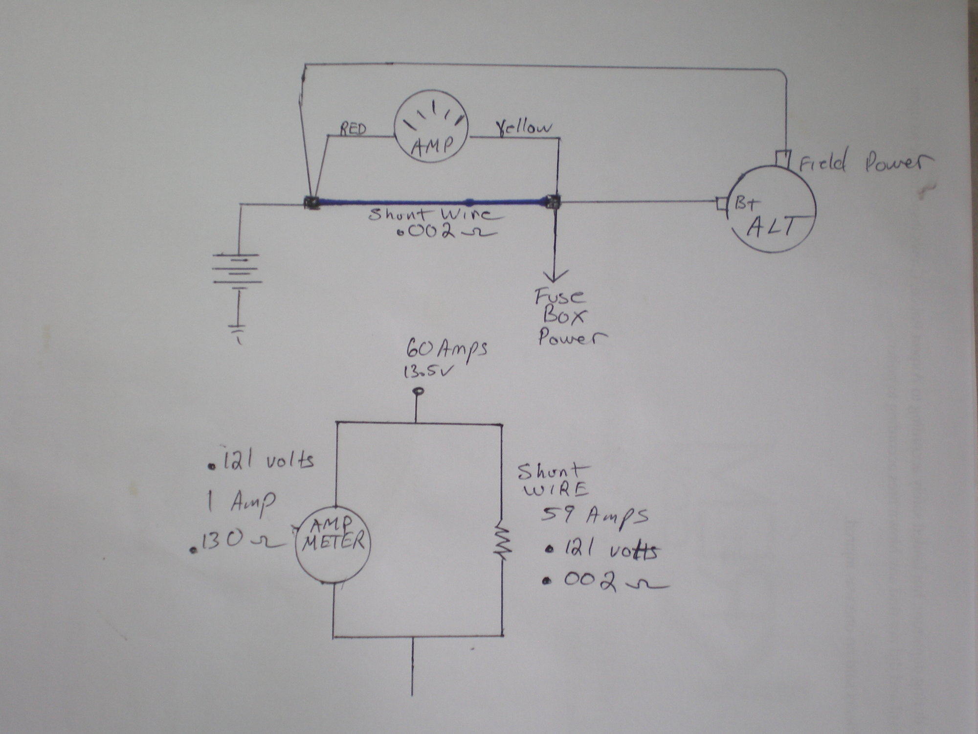 how to swap amp meter to volt meter ford truck enthusiasts forums auto  meter voltmeter wiring
