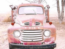 As found in Kansas in 2001. A friend of mine, that I bought the truck from, bought it from the family of the original owner.