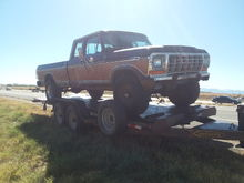Parts truck 1978 4x4 had a engine fire. Want to do a body swap. 78 body is trashed