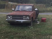 1982 Ford Courier 2.0 5 speed