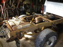 Chet's truck before