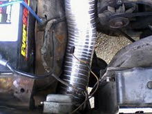 Cold air intake routing 2