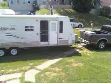 new camper  30ft with super slide