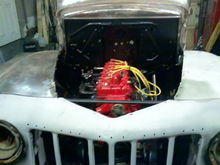 He wanted to stay with the 226 6cyl. Its a 50 model motor that runs and starts great.