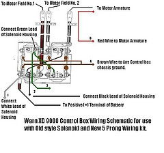 Need help wiring winch If someone could look over my diagram please