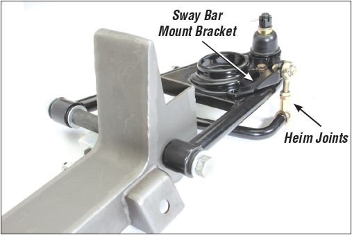 how to change sway bar end links on a mustang