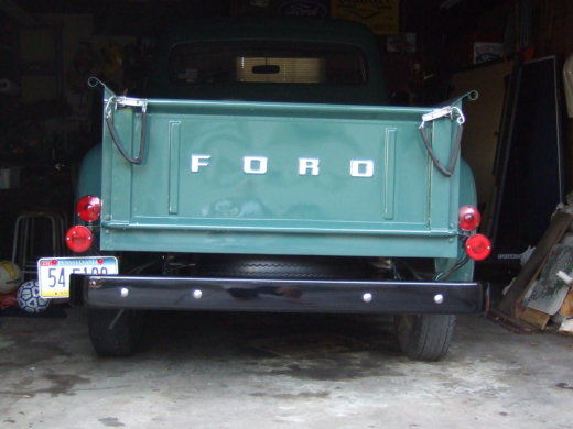 Original 1950 Tail Lights Page 2 Ford Truck