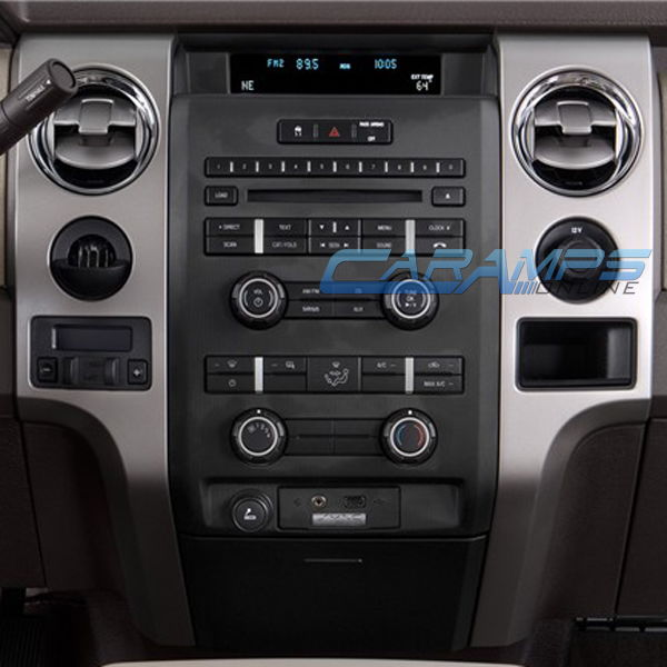oem double din radio bezel   ford truck enthusiasts forums