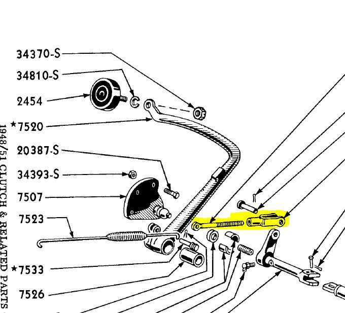 clutch help 1948 ford f1 4 speed