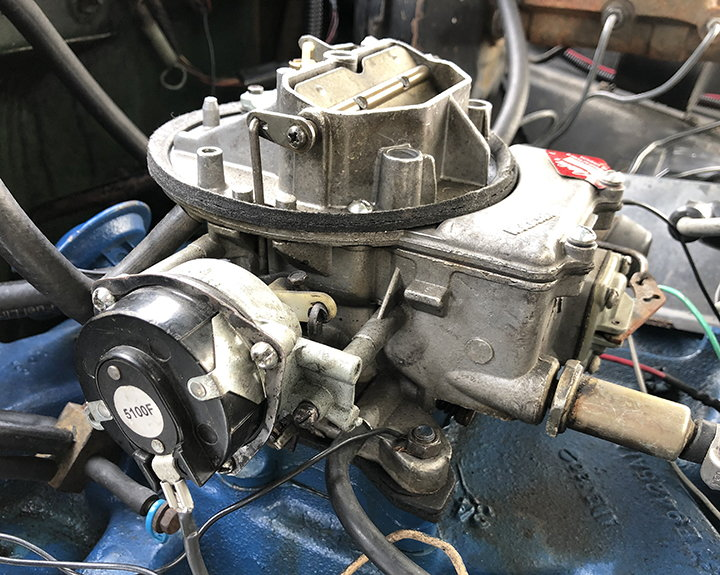 Carb choke question - Ford Truck Enthusiasts Forums