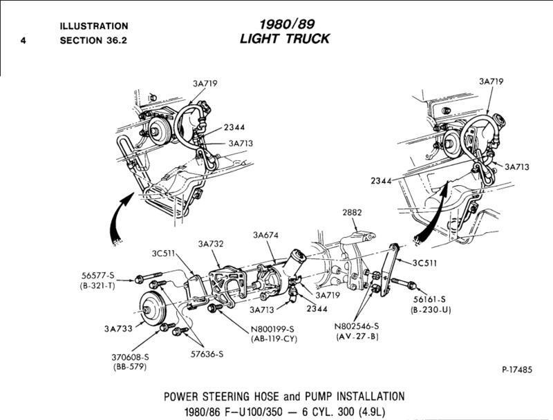 manual to power steering swap 77 2wd