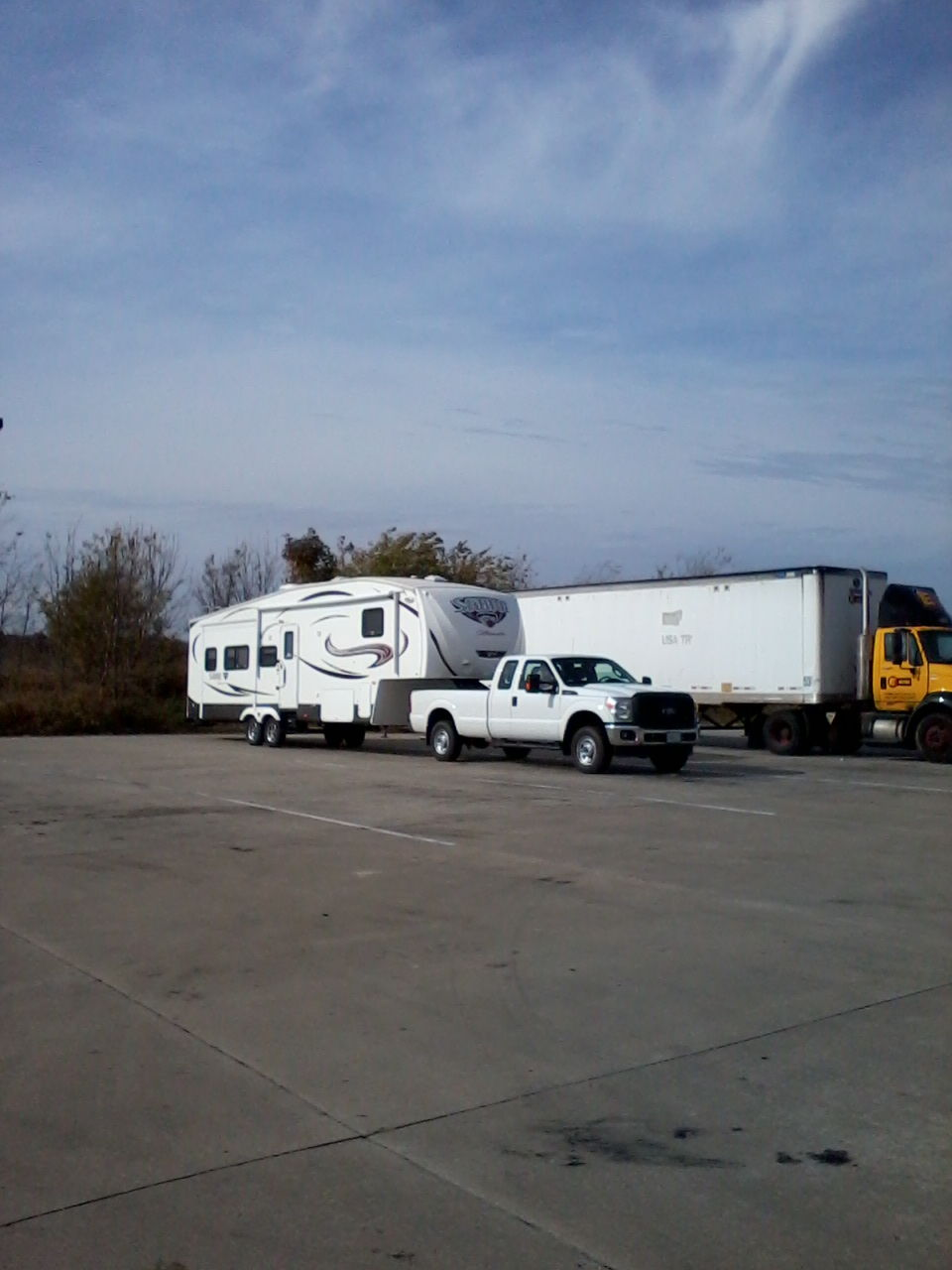 6 2 gas towing new 5th wheel report