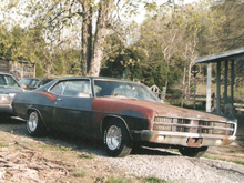 My first build 69 Ford XL Fastback