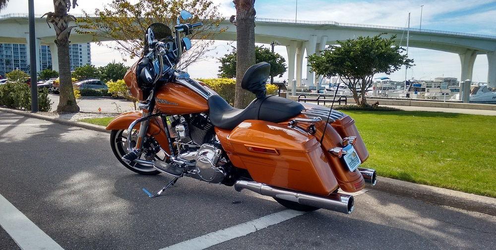 Harley Davidson Ultra With Ape Hangers