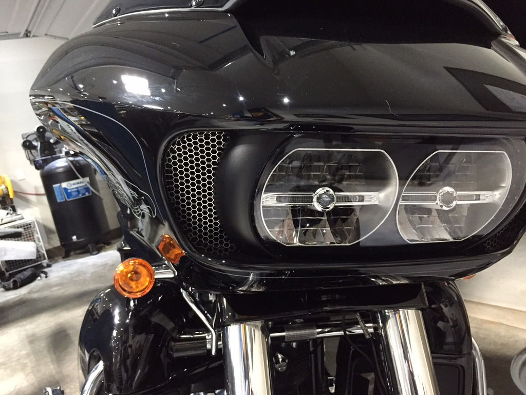 Road Glide Inlet Screens and Decal - Harley Davidson Forums