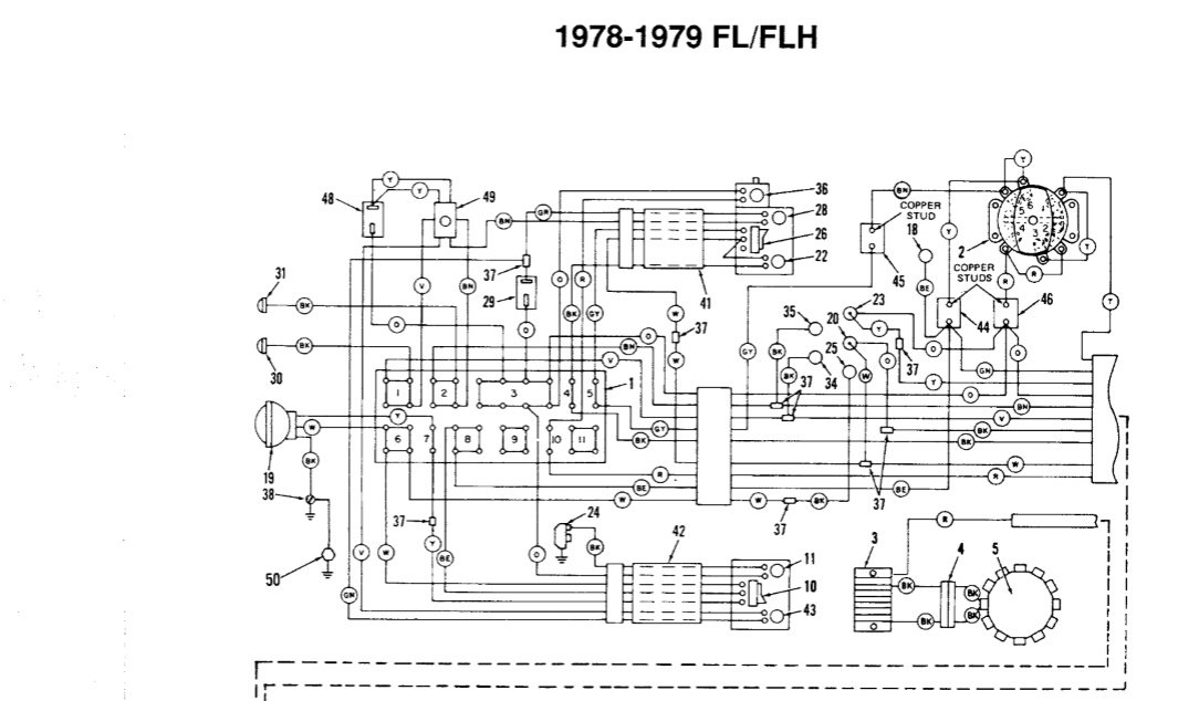 79 flh - ignition wiring - harley davidson forums shovelhead wiring diagram 1980 xlh 81 shovelhead wiring diagram