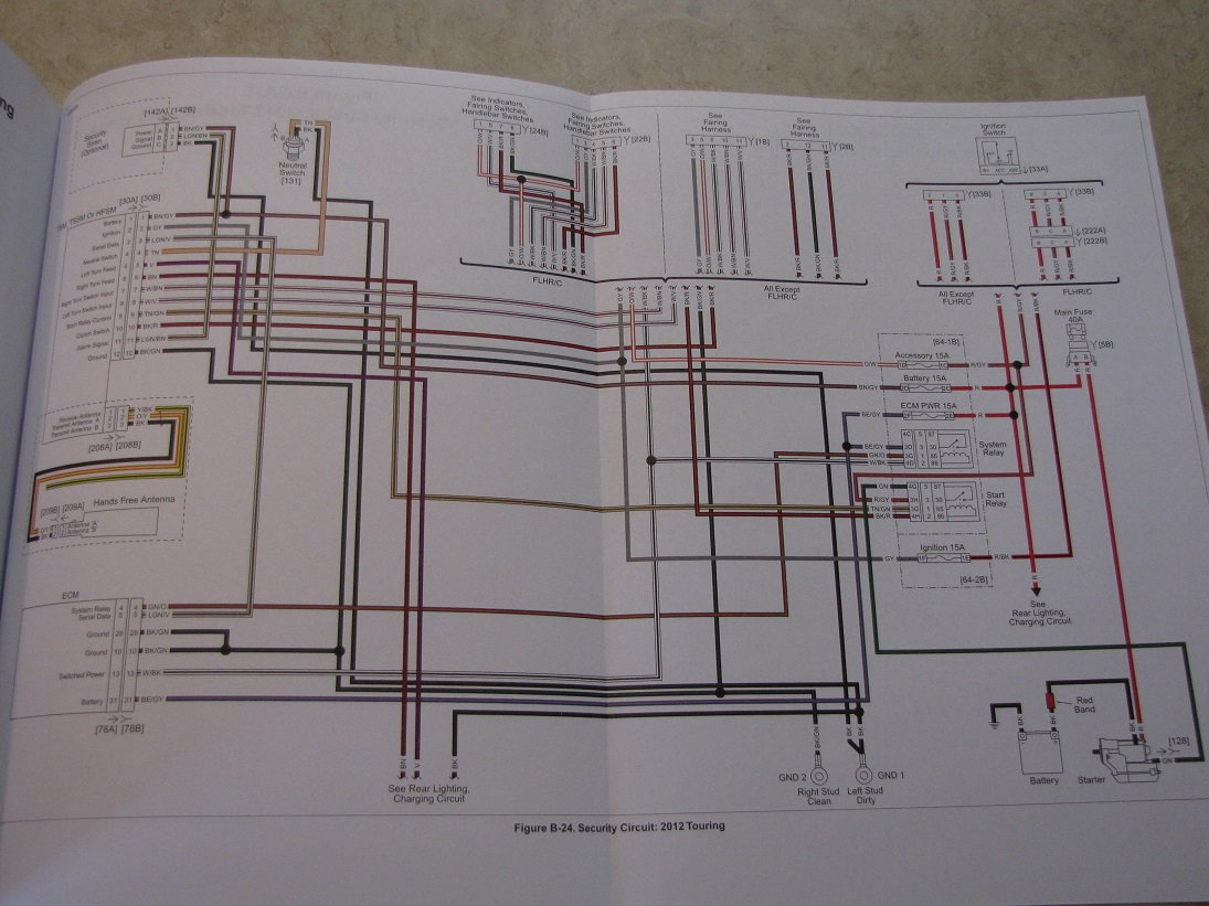 Harley Wiring Diagram 2012 Simple Schema Motorcycle Colors Davidson Road King Mastering 2006 Diagrams
