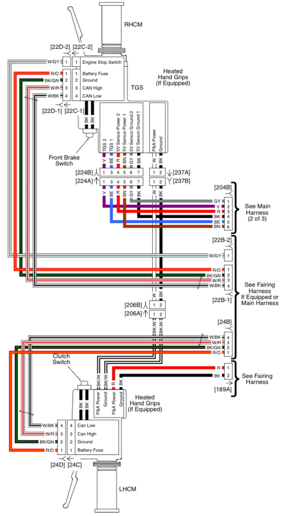 Harley Tbw Wiring Diagram Trusted Schematics Throttle By Wire Explained Diagrams 2009 Davidson Road King