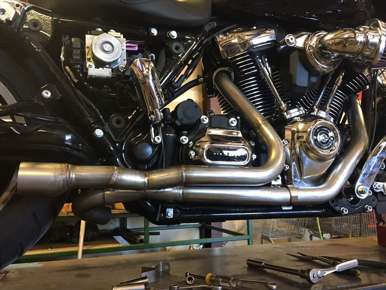 Fullsac MX Header pipe - Harley Davidson Forums