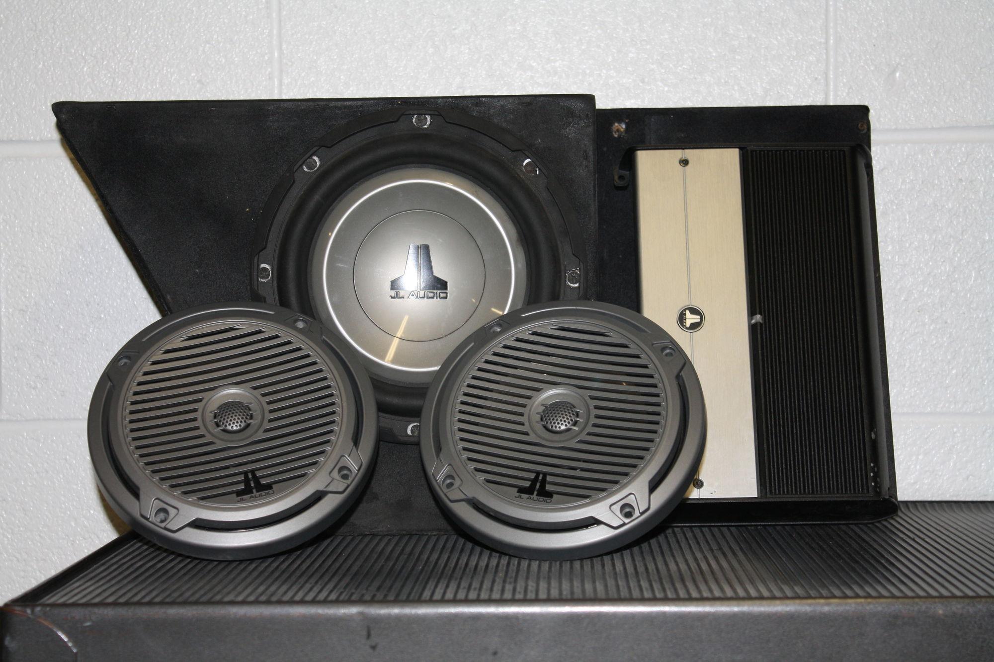 JL Audio Sound System - Harley Davidson Forums