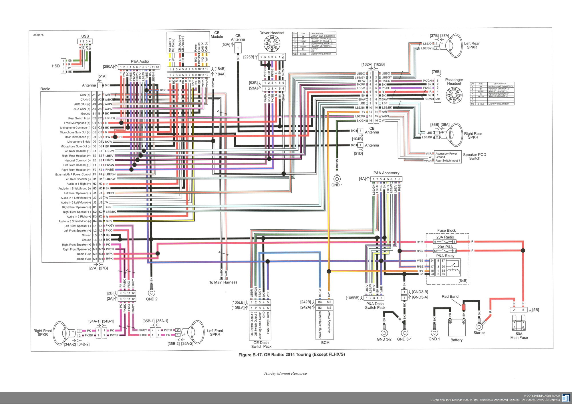 2014 Harley Wiring Diagram Another Blog About Ultra Classic Radio Davidson