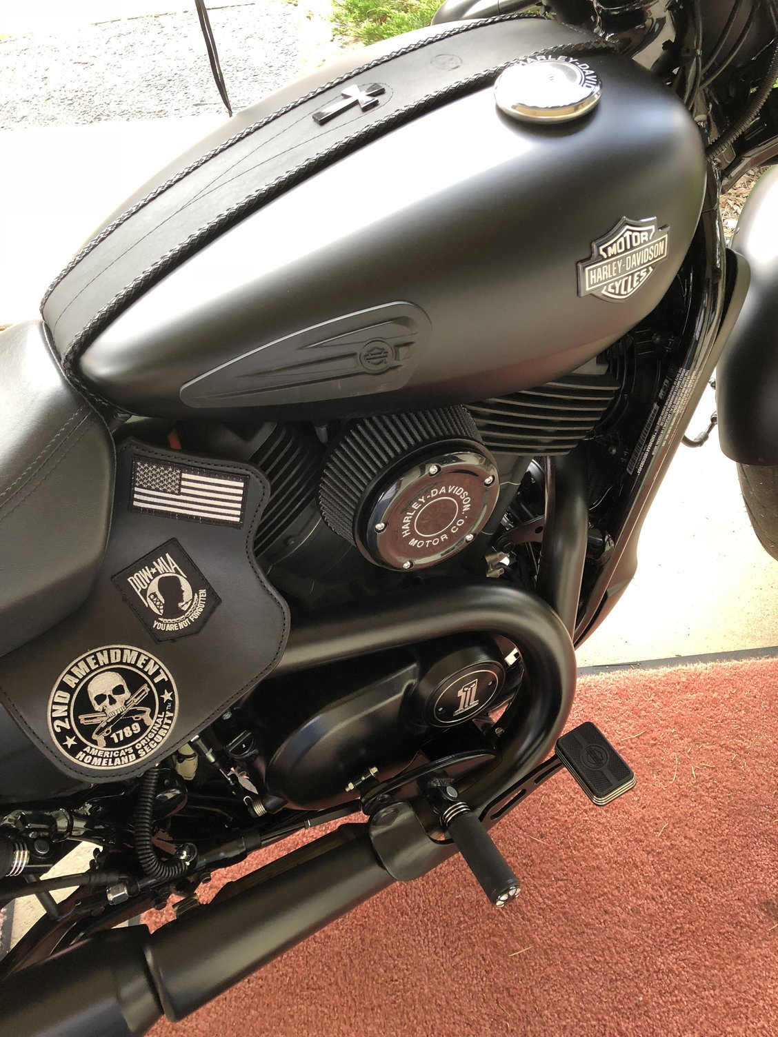 Anyone complete Stage 1 on 500/750? - Harley Davidson Forums