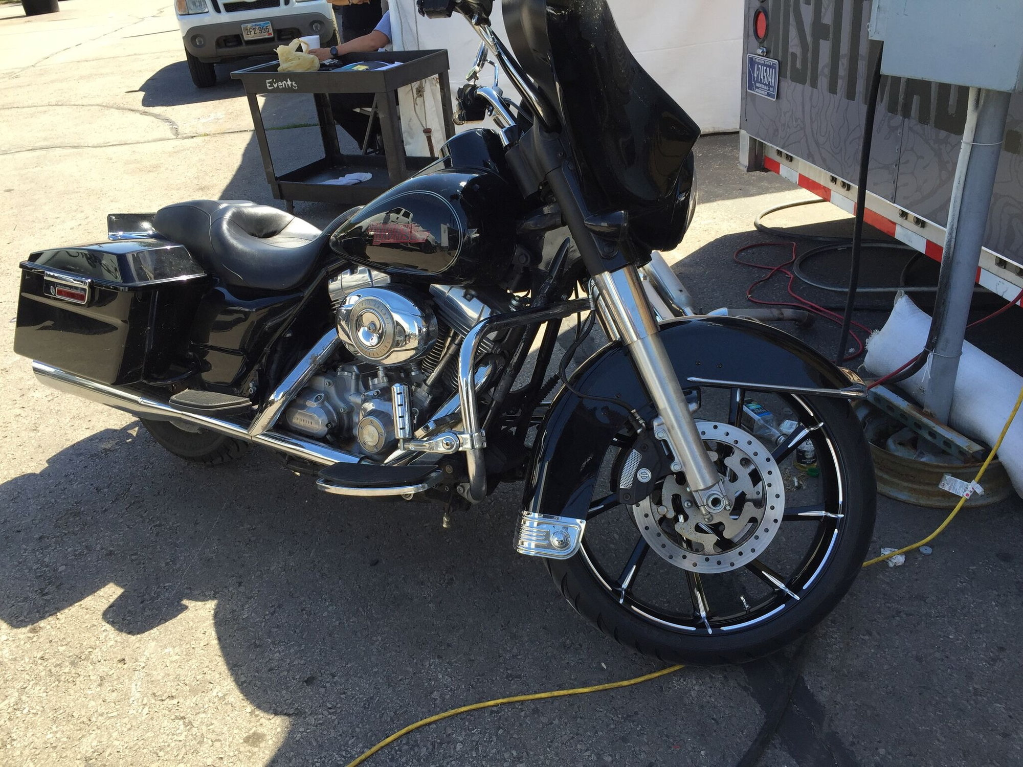Raising the front fender? - Harley Davidson Forums