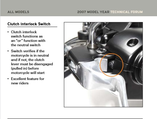 Harley Clutch Safety Switch Bypass