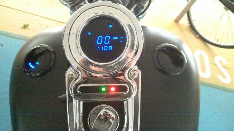 how to change harley fuel gauge
