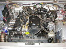 my baller 130hp suzuki turbo setup