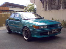 89 Lancer with 4G63 Turbo