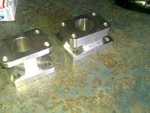 IMAG1415adapters I made for a t25 to dsm eclipse manifold for sale , pm me if iterested. It's port matched also