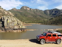 Camping in the Durango Sierra, great for The H2 Hummer