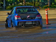 Subiefest 2011, Drift pad Most this was all done in 2nd or 3rd gear