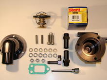 HOT DIESEL SOLUTIONS MODEL 001 ENGINE THERMOSTAT