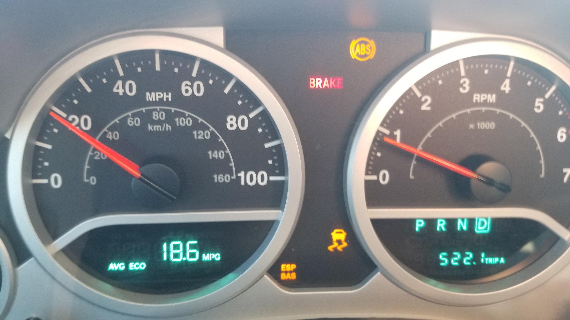 How To Reset Esp Bas Light Jeep Wrangler