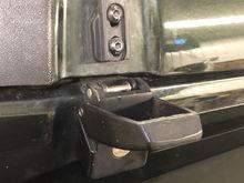 Driver Side Locking Latch - unlocked