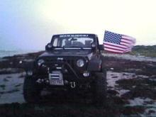 Jeep on the beach 2007