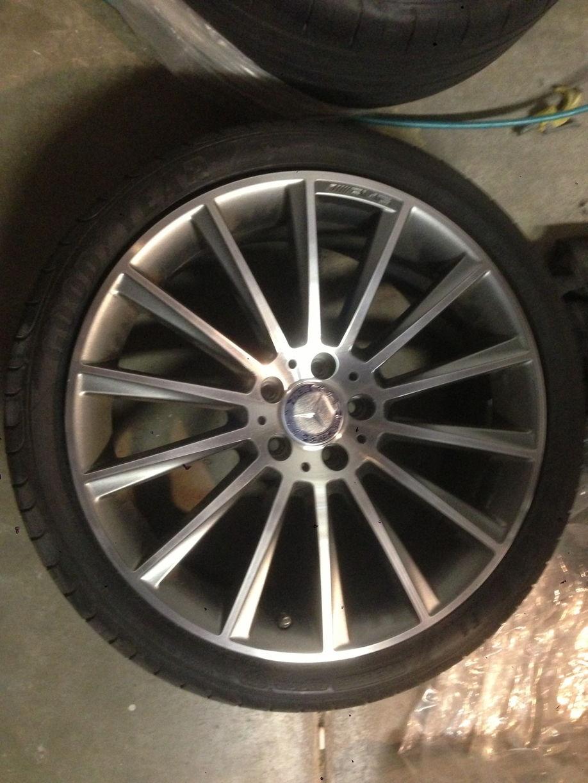 "2007 Mercedes S550 For Sale >> F/S For Sale W222 AMG 20"" 14 spoke turbine wheels W/tpms"
