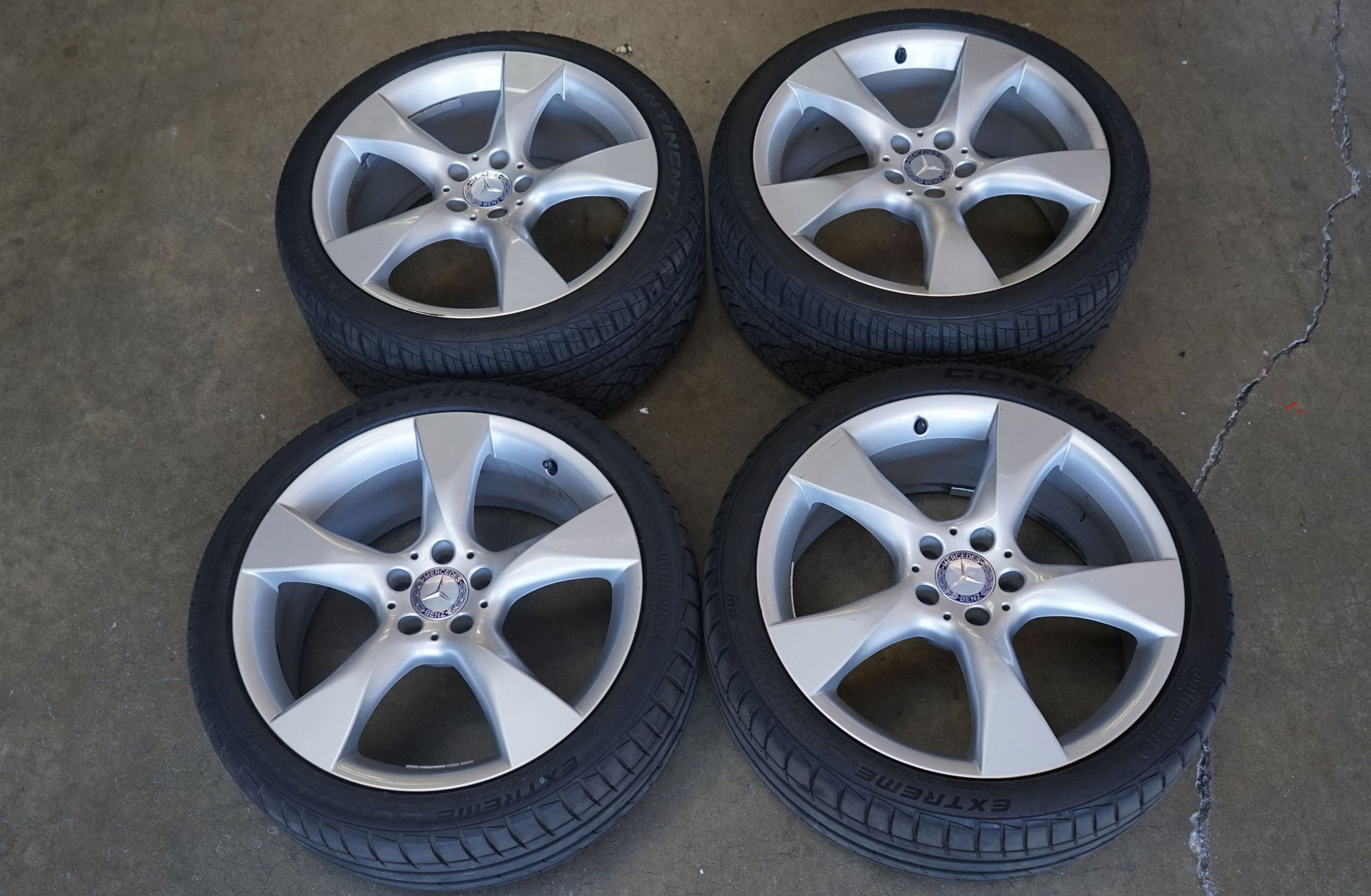 Mercedes benz oem wheels and tires for cls500 cls550 cls55 for Mercedes benz oem wheels