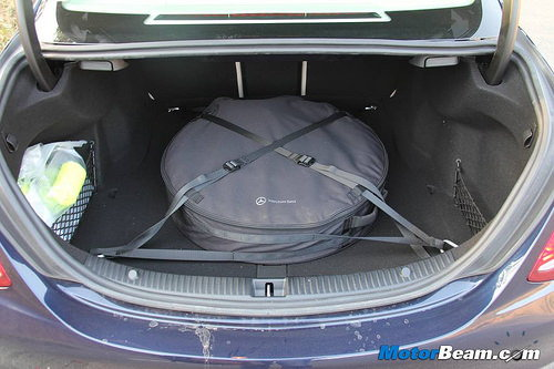 A-CLASS 2012-PRESENT DAY AMG LINE 18 SPACE SAVER SPARE WHEEL AND TOOL KIT /& COVER BAG