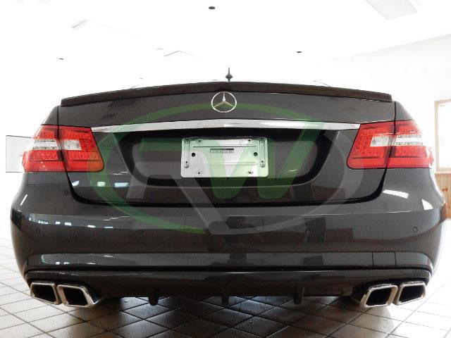 Rw carbon e350e550 sport big fin carbon fiber diffuser i am still awaiting replies from previous customers the customers car pictured below used oem amg tips fandeluxe